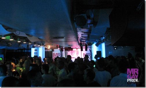 Una abarrotada discoteca Byblos durante la elección Mr. Gay Alicante 2012