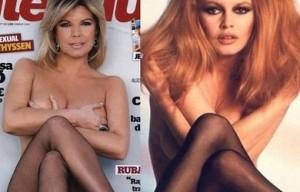 La portada de Terelu Campos copia de Brigitte Bardot